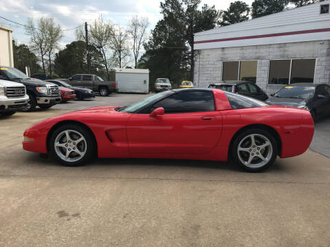 2004 Chevrolet Corvette for sale at Northwood Auto Sales in Northport AL