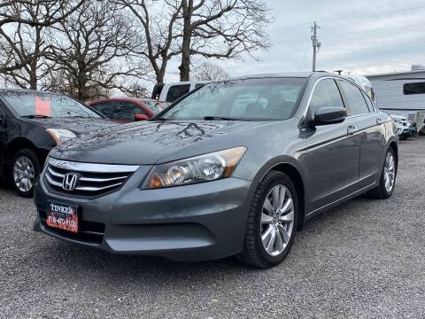 2012 Honda Accord for sale at TINKER MOTOR COMPANY in Indianola OK