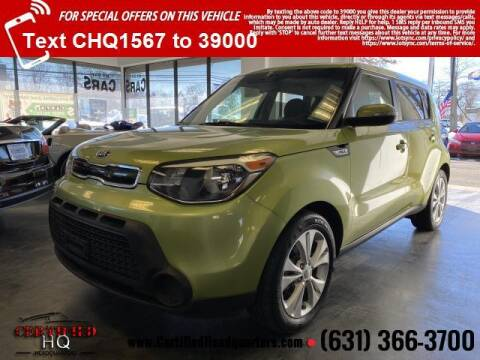 2014 Kia Soul for sale at CERTIFIED HEADQUARTERS in St James NY