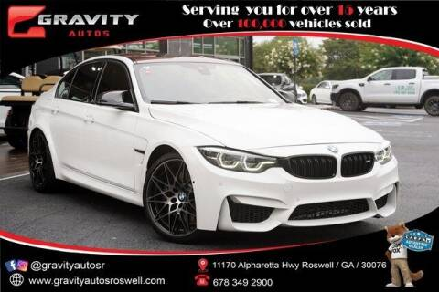 2018 BMW M3 for sale at Gravity Autos Roswell in Roswell GA