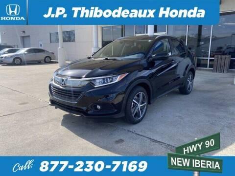 2021 Honda HR-V for sale at J P Thibodeaux Used Cars in New Iberia LA