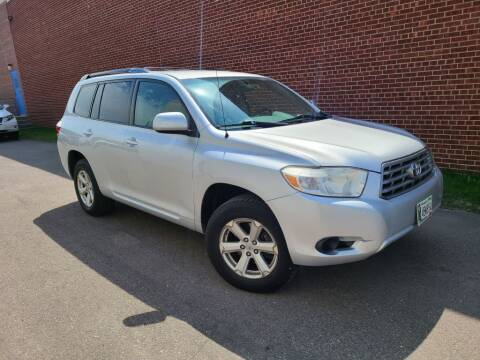 2008 Toyota Highlander for sale at Minnesota Auto Sales in Golden Valley MN