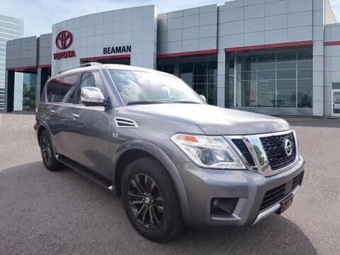 2017 Nissan Armada for sale at BEAMAN TOYOTA in Nashville TN