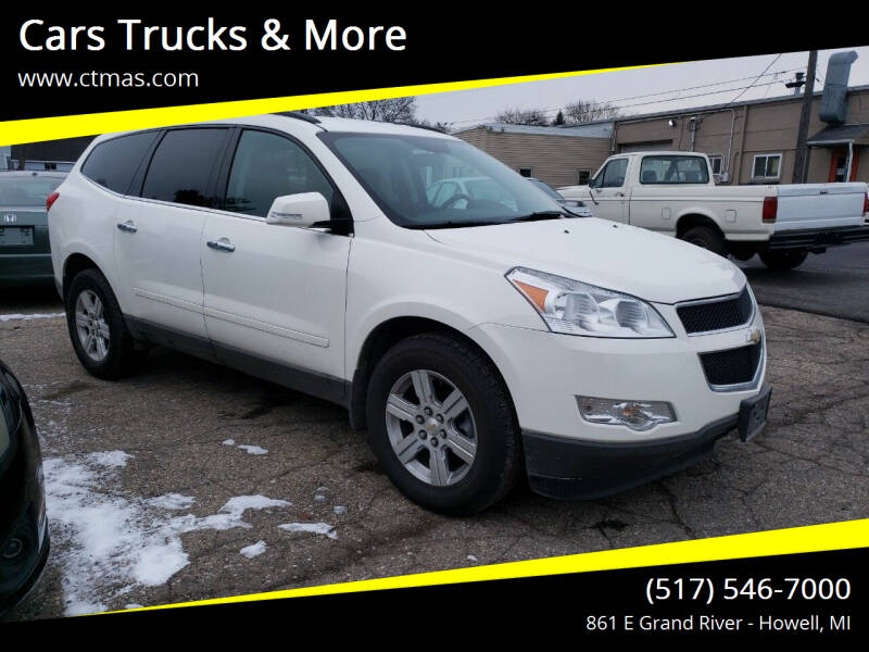 2012 Chevrolet Traverse for sale at Cars Trucks & More in Howell MI