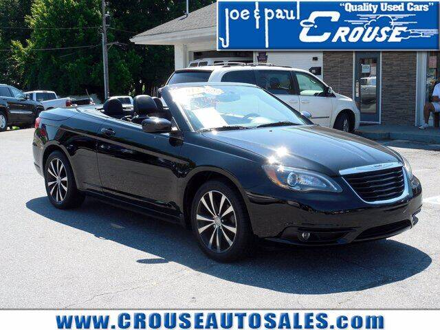 2012 Chrysler 200 Convertible for sale at Joe and Paul Crouse Inc. in Columbia PA