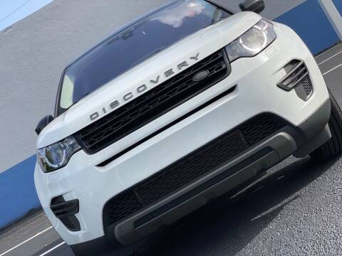 2017 Land Rover Discovery Sport for sale at HIGH PERFORMANCE MOTORS in Hollywood FL