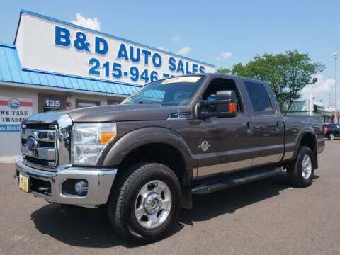 2015 Ford F-250 Super Duty for sale at B & D Auto Sales Inc. in Fairless Hills PA