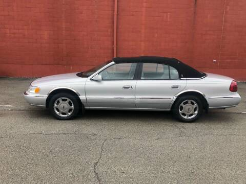 2000 Lincoln Continental for sale at ELIZABETH AUTO SALES in Elizabeth PA
