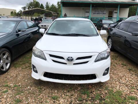 2013 Toyota Corolla for sale at Stevens Auto Sales in Theodore AL