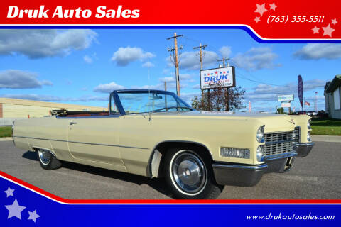 1966 Cadillac DeVille for sale at Druk Auto Sales in Ramsey MN