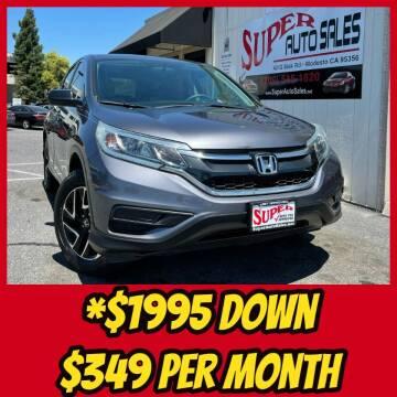 2016 Honda CR-V for sale at Super Auto Sales Modesto in Modesto CA
