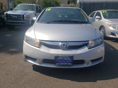 2010 Honda Civic for sale at JFC Motors Inc. in Newark NJ