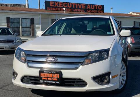 2011 Ford Fusion Hybrid for sale at Executive Auto in Winchester VA