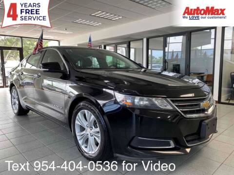 2014 Chevrolet Impala for sale at Auto Max in Hollywood FL