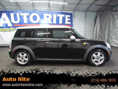 2009 MINI Cooper Clubman for sale at Auto Rite in Cleveland OH