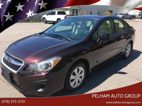 2013 Subaru Impreza for sale at Pelham Auto Group in Pelham NH