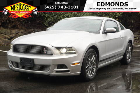 2014 Ford Mustang for sale at West Coast Auto Works in Edmonds WA