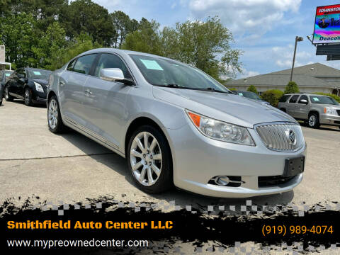 2010 Buick LaCrosse for sale at Smithfield Auto Center LLC in Smithfield NC