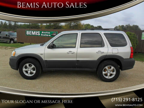 2006 Mazda Tribute for sale at Bemis Auto Sales in Crivitz WI