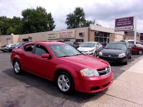 2011 Dodge Avenger for sale at Gregory J Auto Sales in Roseville MI