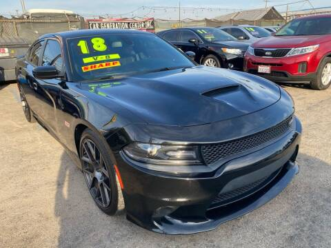 2018 Dodge Charger for sale at CAR GENERATION CENTER, INC. in Los Angeles CA