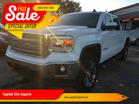 2015 GMC Sierra 1500 for sale at Capital City Imports in Tallahassee FL