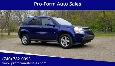 2006 Chevrolet Equinox for sale at Pro-Form Auto Sales in Belmont OH