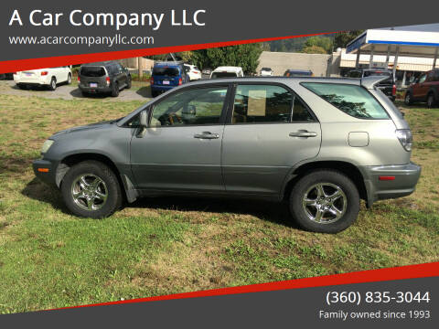 2002 Lexus RX 300 for sale at A Car Company LLC in Washougal WA