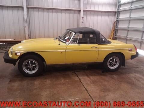 1980 MG MGB for sale at East Coast Auto Source Inc. in Bedford VA
