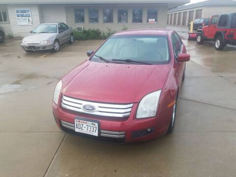 2007 Ford Fusion for sale at Kenosha Auto Outlet LLC in Kenosha WI