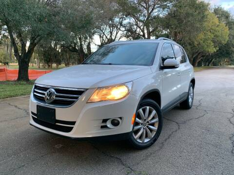 2011 Volkswagen Tiguan for sale at FLORIDA MIDO MOTORS INC in Tampa FL