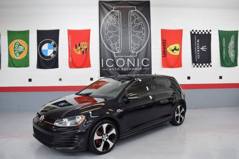 2017 Volkswagen Golf GTI for sale at Iconic Auto Exchange in Concord NC