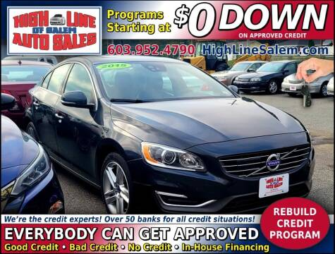 2015 Volvo S60 for sale at High Line Auto Sales of Salem in Salem NH