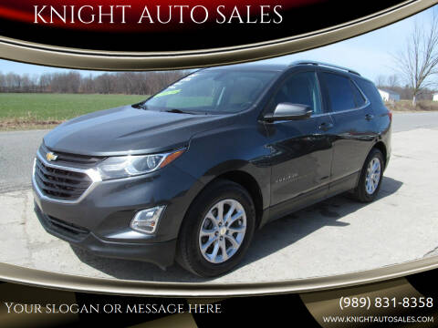 2018 Chevrolet Equinox for sale at KNIGHT AUTO SALES in Stanton MI