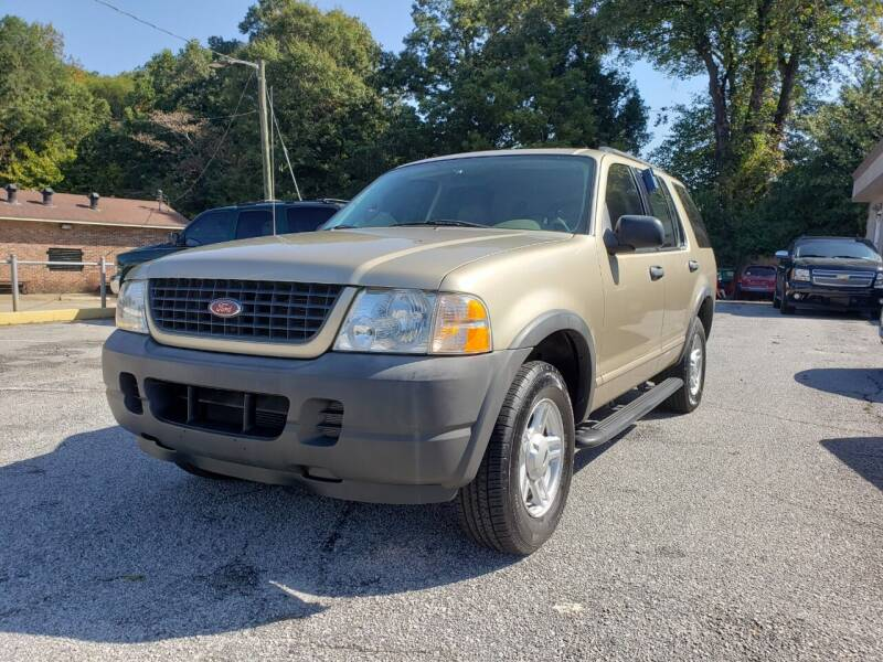 2003 Ford Explorer for sale at Mack's Auto Sales in Forest Park GA