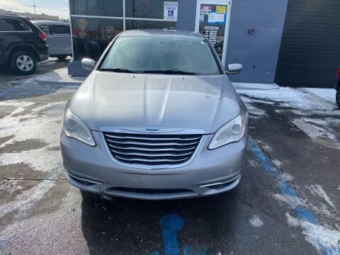 2014 Chrysler 200 for sale at Bi-Rite Auto Sales in Clinton Township MI