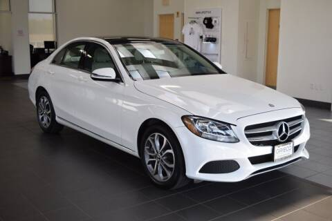 2017 Mercedes-Benz C-Class for sale at BMW OF NEWPORT in Middletown RI