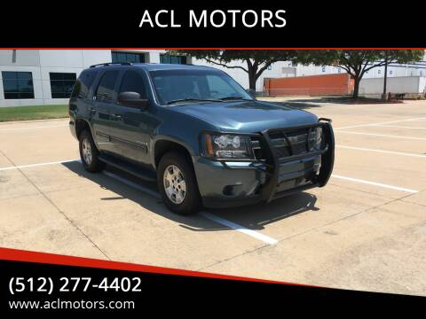 2009 Chevrolet Tahoe for sale at ACL MOTORS in Austin TX
