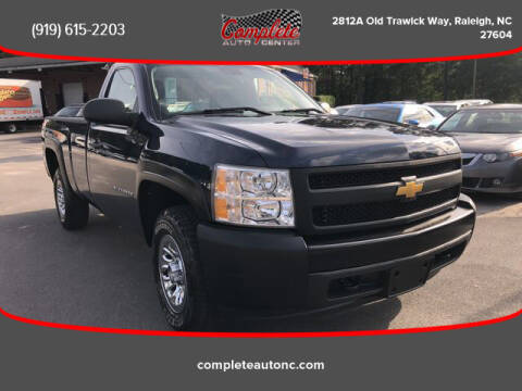2010 Chevrolet Silverado 1500 for sale at Complete Auto Center , Inc in Raleigh NC