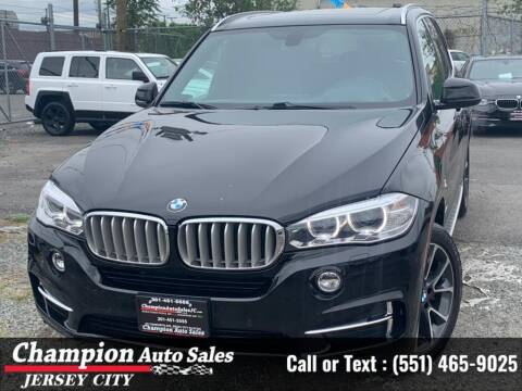 2017 BMW X5 for sale at CHAMPION AUTO SALES OF JERSEY CITY in Jersey City NJ
