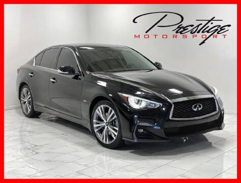 2018 Infiniti Q50 for sale at Prestige Motorsport in Rancho Cordova CA