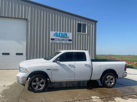 2014 RAM Ram Pickup 1500 for sale at 402 Autos in Lindsay NE