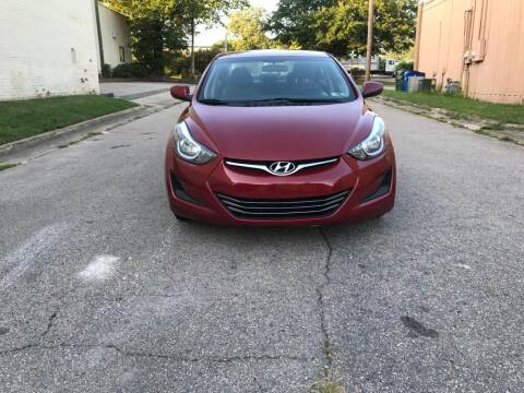 2016 Hyundai Elantra for sale at Horizon Auto Sales in Raleigh NC