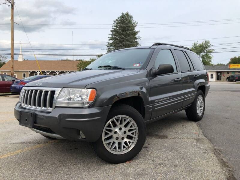 2004 Jeep Grand Cherokee for sale at J's Auto Exchange in Derry NH