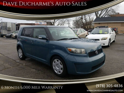 2008 Scion xB for sale at Dave Ducharme's Auto Sales in Lowell MA