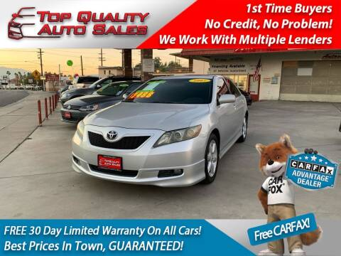 2007 Toyota Camry for sale at Top Quality Auto Sales in Redlands CA