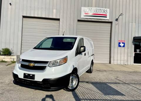 2015 Chevrolet City Express Cargo for sale at CTN MOTORS in Houston TX