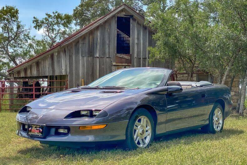 1994 Chevrolet Camaro for sale at STREET DREAMS TEXAS in Fredericksburg TX
