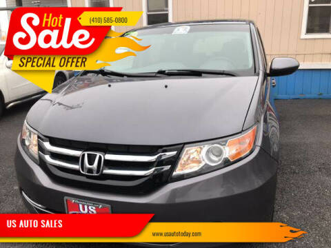 2015 Honda Odyssey for sale at US AUTO SALES in Baltimore MD
