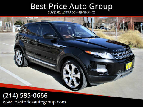 2014 Land Rover Range Rover Evoque for sale at Best Price Auto Group in Mckinney TX